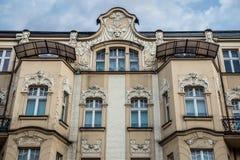 House in Katowice Stock Photos