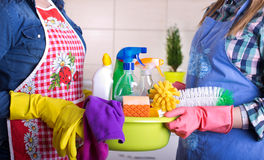 House keeping staff royalty free stock photos