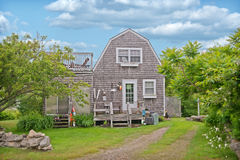 House in Kennebunkport Maine stock photos