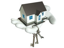 House and Key. This graphic is Small House Stock Photo