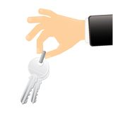 House key Stock Photos