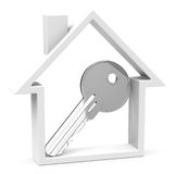 The house key Royalty Free Stock Photo
