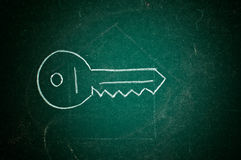 House key drawing Stock Images