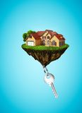 House and key Stock Image