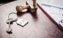 House key in office Stock Photography