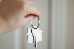 House key real estate concept Royalty Free Stock Images