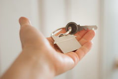House key real estate concept Royalty Free Stock Photo