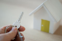 House key real estate concept Royalty Free Stock Image