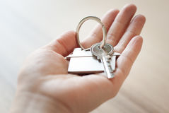 House key real estate concept Stock Photos