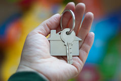 House key real estate concept Stock Photo