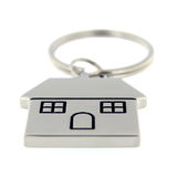 House key ring perspective Stock Photos