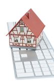 House on keyboard Stock Images
