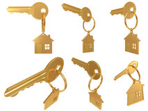 House  keychain Stock Photography
