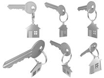 House  keychain Stock Photos