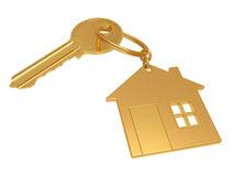 House  keychain Stock Image