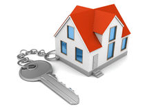 House keychain Royalty Free Stock Photography