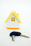 House and the keys Royalty Free Stock Image