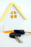 House and the keys Royalty Free Stock Images