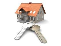 House and Keys stock illustration