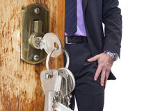 House keys Royalty Free Stock Photos