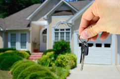 House Keys. Keys to a new house Stock Photography