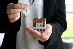 House and keys royalty free stock photography