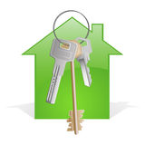 House for keys 3 Stock Image