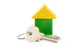 House and keys Stock Photography
