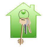 House_for_keys Stock Image