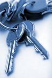 House keys closeup Stock Photos