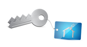 House keys illustration design Stock Photos
