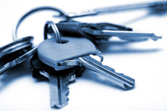 House keys macro Stock Photo