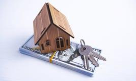 House keys money royalty free stock photo