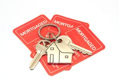 House keys and morgage Stock Photos