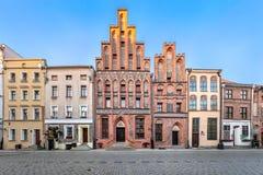 House of Kopernik. Torun, Poland - July 05 2018: House of Kopernik - museum commemorate Nicolaus Copernicus stock image