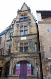 House of La Boetie, the immortal friend of Montaigne, in Sarlat, France Royalty Free Stock Image