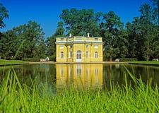 House at lake Royalty Free Stock Images