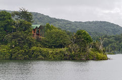House in Lake Carite, Puerto Rico Stock Photo