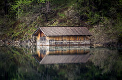 House on the lake Royalty Free Stock Photo