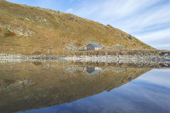 House by the Lake Stock Photos