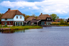 House in the lake Royalty Free Stock Photo