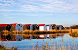 House in the lake Royalty Free Stock Photos