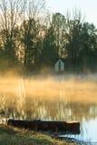 House on the lake Royalty Free Stock Photos