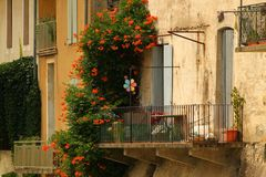 House in Languedoc Rousillon Royalty Free Stock Photo
