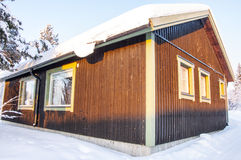 House in Lapland Royalty Free Stock Photo
