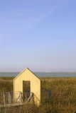 House that leads to nowhere. A yellow house that leads to nowhere Stock Images