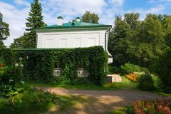 House of Leo Tolstoy in the estate Stock Photography