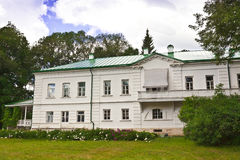 House of Leo Tolstoy in Yasnaya Polyana now a memorial museum. Stock Photos