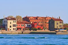 House in Lido Island Venice Italy Royalty Free Stock Photo