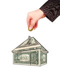 House like money box Royalty Free Stock Image